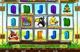 Jogo online grátis Birds of Fury
