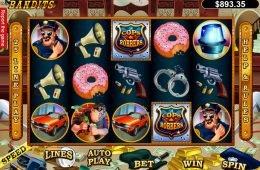 Caça-níqueis online Cash Bandits para diversão
