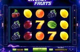 Uma foto do caça-níqueis Energy Fruits online