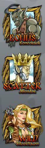 Símbolos especiais do jogo online grátis Legendlore