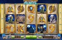 Jogo online grátis Pharaohs and Aliens