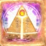 Símbolo disperso do jogo oonline Pyramid Treasure