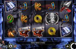 Jogue a máquina de caça-níqueis de casino Ming Warrior online