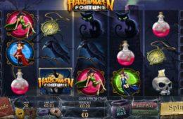 Máquina de caça-níqueis online grátis Halloween Fortune