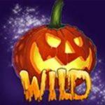 Símbolo de curinga do jogo grátis de casino Halloween Fortune II