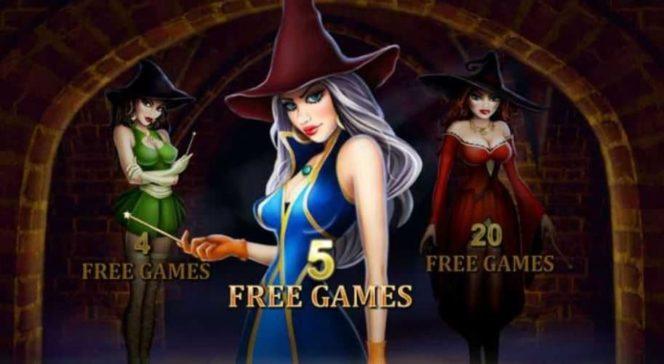 Jogo de bônus do Halloween Fortune - Parte Um