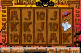 Máquina caça-níqueis de casino Halloween Night