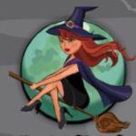 Símbolo curinga do jogo de cassino online grátis Halloween Riches
