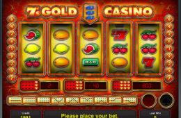 Máquina caça-níqueis online gratuita Gold Casino 7´s