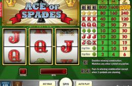 Uma imagem do jogo de caça-níqueis Ace of Spades