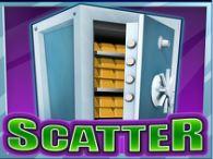 Símbolo de scatter do jogo grátis online Bank Cracker