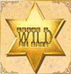 Símbolo de curinga do jogo grátis de casino Cowboy Treasure