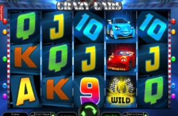 Slot para diversão online Crazy Cars online