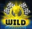 Símbolo de curinga do jogo grátis de casino Crazy Cars