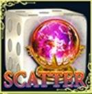 Símbolo de scatter do jogo grátis online Dice of Magic