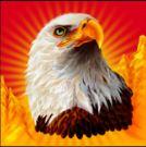 Símbolo curinga do caça-níqueis grátis Eagle Bucks