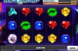 Uma foto do jogo caça-níqueis Gem Drop