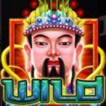 Símbolo curinga do jogo online Jade Emperor King Strike