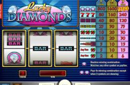 Jogo de cassino grátis Lucky Diamonds