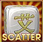 Símbolo scatter do jogo de caça-níqueis online Rolling Dice