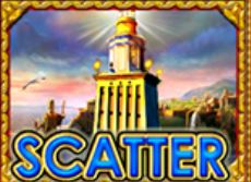 Símbolo Scatter - máquina de caça-níqueis online The Story of Alexander