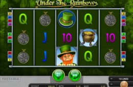 Maquina caça-níqueis para diversão Under the Rainbow